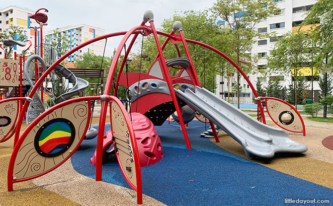 Beauty Garden Park Playground