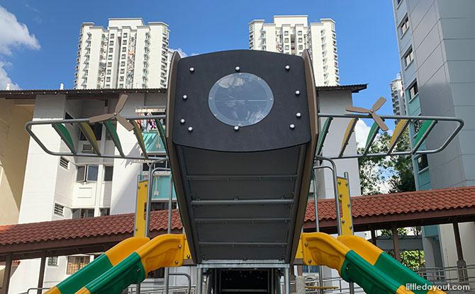 Plane Fun at the Bukit Batok Street 34 Airplane Playground