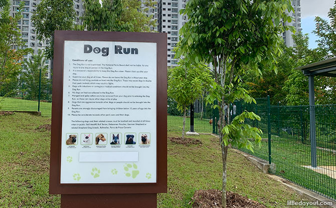 Bukit Gombak Park dog run