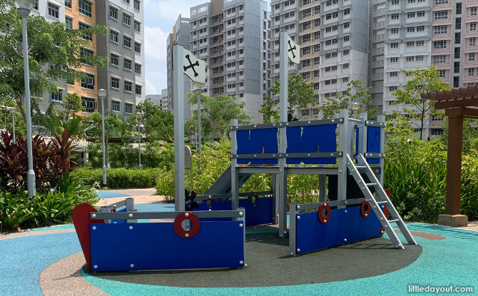 Ship playground in Canberra - Sembawang Neighbourhood