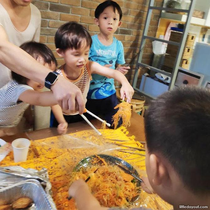 Deciding on the CNY Menu for the Reunion meals