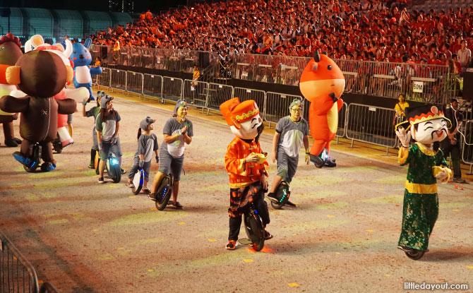 Procession at Chingay 2020