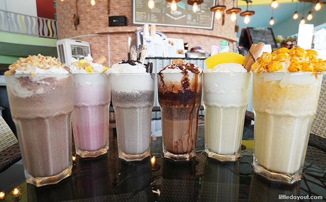 Citrus Bistro's Mighty Milkshakes