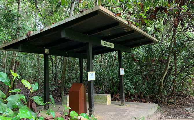 Hut along Rifle Range Link