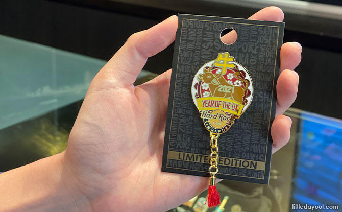 Hard Rock limited edition Chinese New Year pins