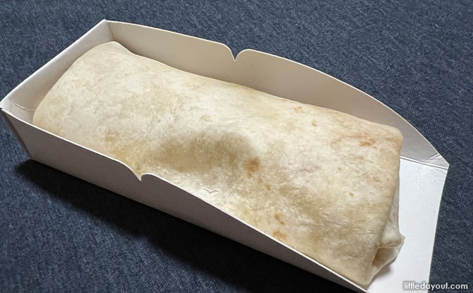 7-Select Impossible Spicy Wrap