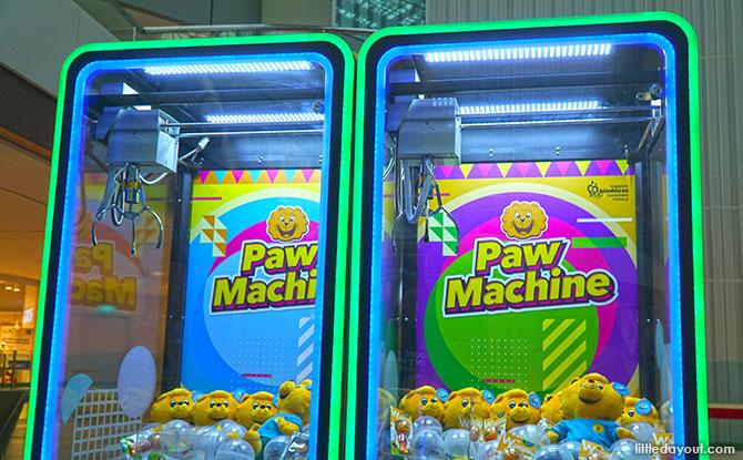 UFO Catcher Machine - Paw Machine