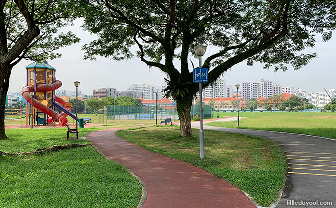 Jalan Bahar Park: Community Hub & Playground At The Hong Kah Mini Park