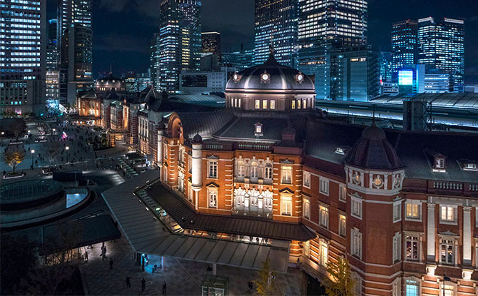The Japan Rail Fair - Tokyo Station The 0km Trip