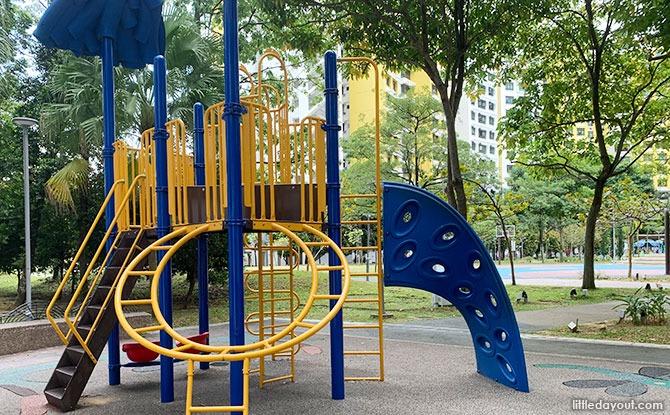Jelutung Harbour Park, neighbourhood park in Sembawang