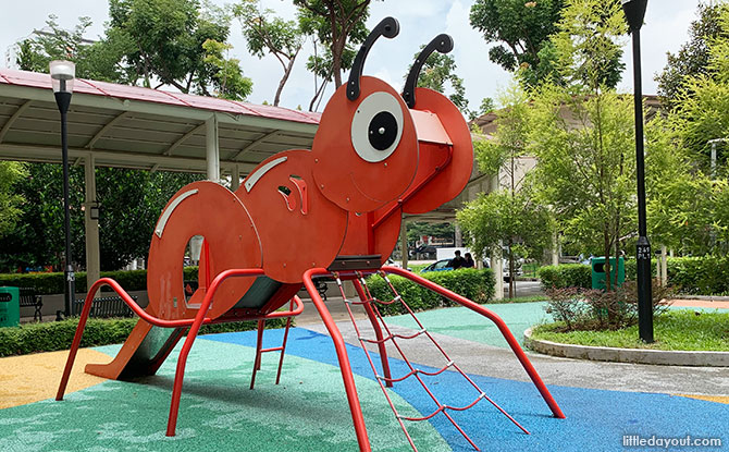 Ant playground in Jurong