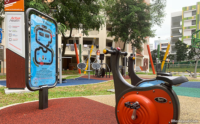More Fun at the Jurong West Street 73 Playground