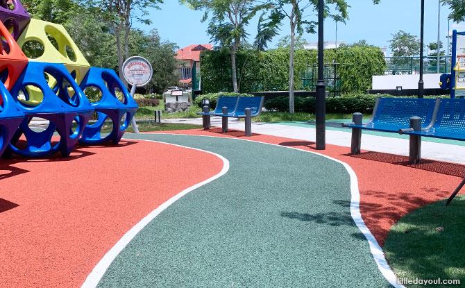 Mini Traffic Course at the La Salle Street Playground