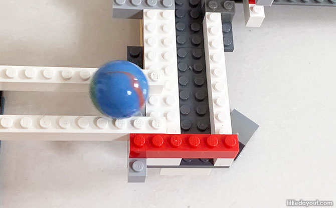 Building a Marble Rollercoaster from LEGO
