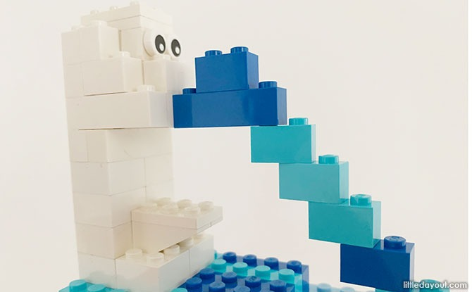 Build A LEGO Merlion