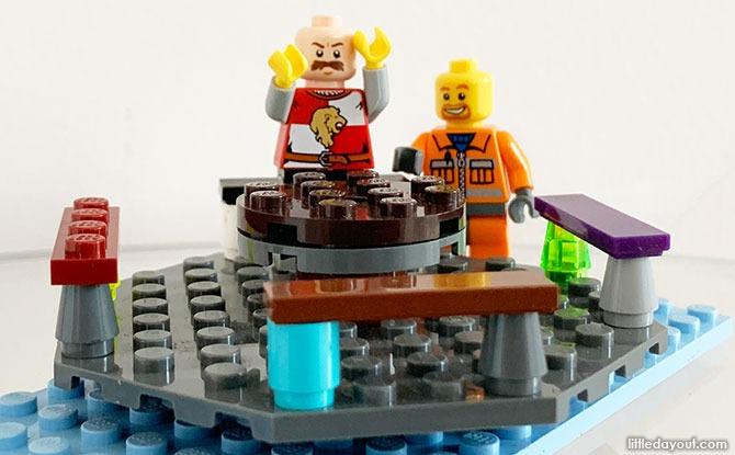 LEGO Merry Go Round Build
