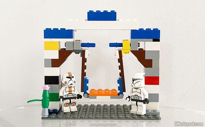 Building a LEGO Swing