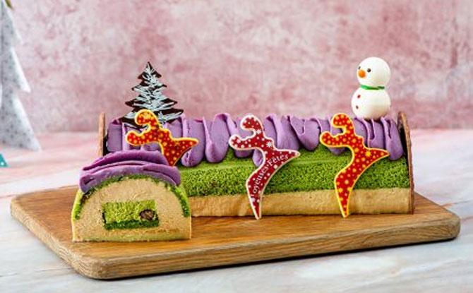 InterContinental Singapore Log Cake 2020
