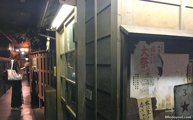Wooden houses, Namja Town Japan