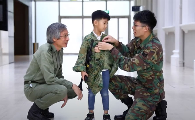 Nat's National Day Wish: Learning About National Service At The Museum