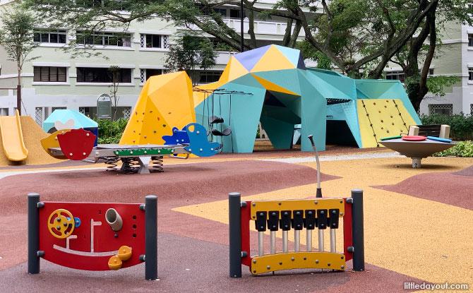 Origami Rock Playground