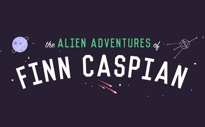 The Alien Adventures of Finn Caspian
