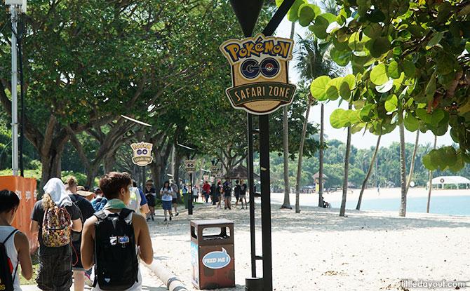 Pokémon GO Safari Zone at Sentosa