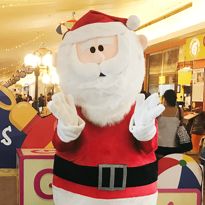 Santa Claus Meet & Greet at Bedok Point 2019