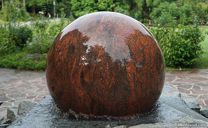 Swiss Granite Fountain