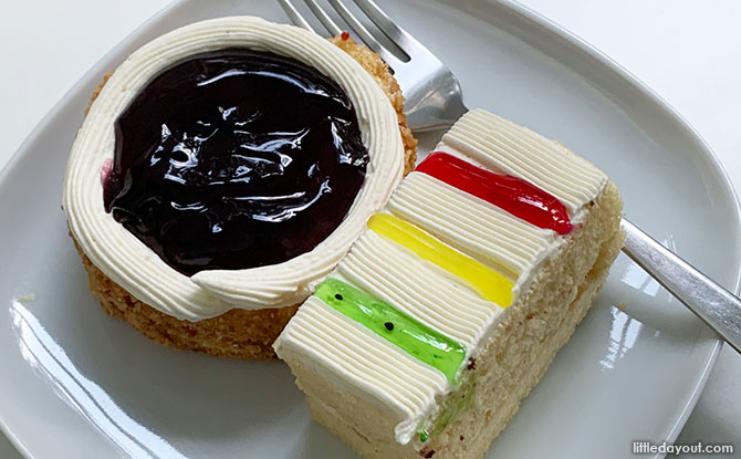 Cakes from Sembawang Confectionary
