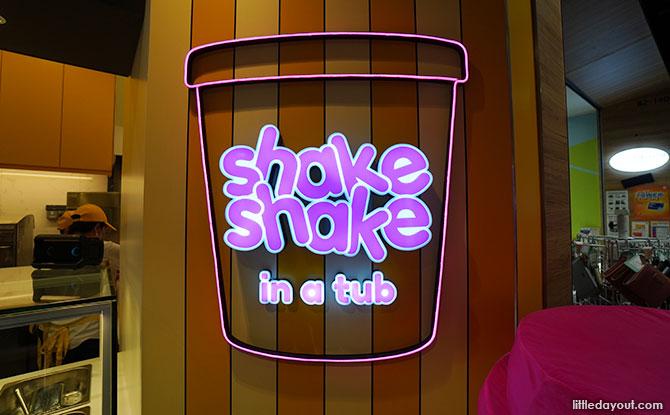Shake Shake in a Tub