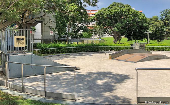 Tampines Skate Park: East Side Skating Spot