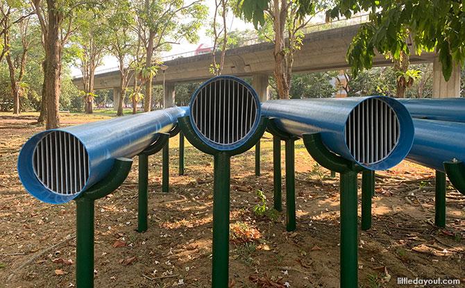 Talking Tube - Sun Plaza Park