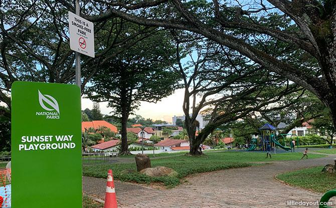 Sunset Way Playground: A Green Hub For The Neighbourhood