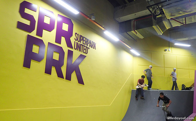 Skate and Scoot World, SuperPark Singapore