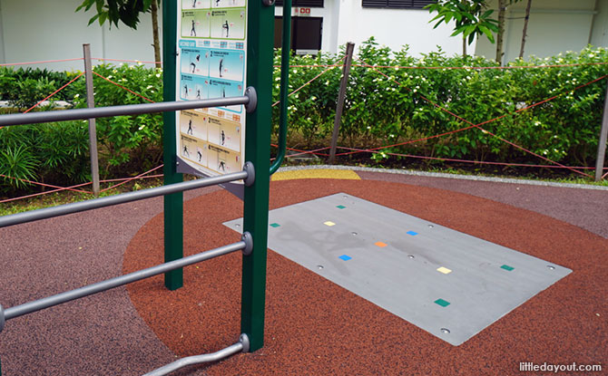 Tampines Greenview Playground Explorer Exercise Area