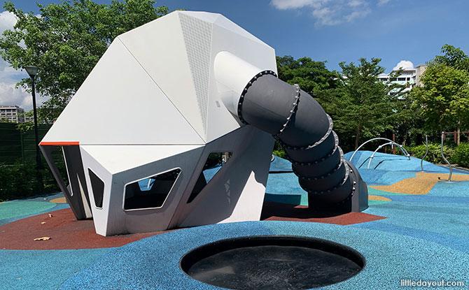 Meteorite Playground at Tampines