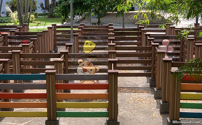 Telok Blangah Rise Children's Maze: Play Spot In The Neighbourhood