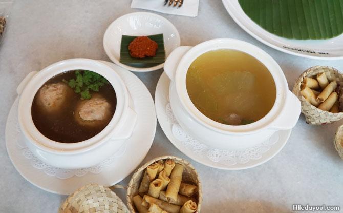 Bak Wan Kepiting and Itek Tim