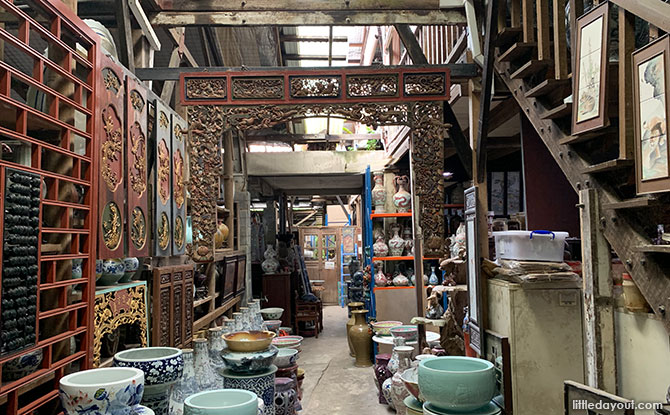 Shopping for Pottery