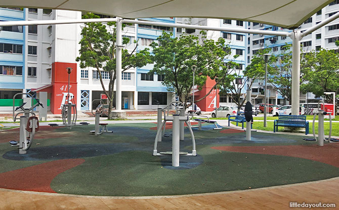 Fitness Area at Time Park