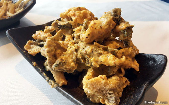 Crispy Salted Egg Yolk Fish Skin