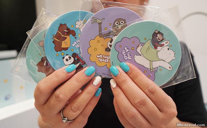 We Bare Bears coasters