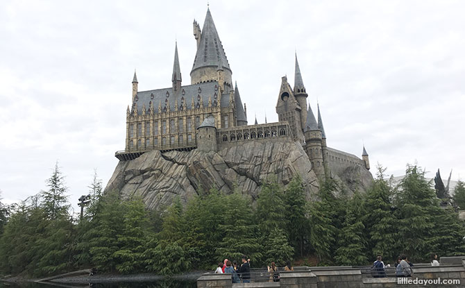 The Wizarding World of Harry Potter, Universal Studios Japan is Harry Potter and the Forbidden Journey