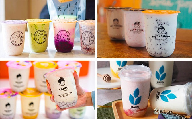 Yogurt Drink Stores In Singapore: Where To Get Purple Rice Yogurt Drinks And More