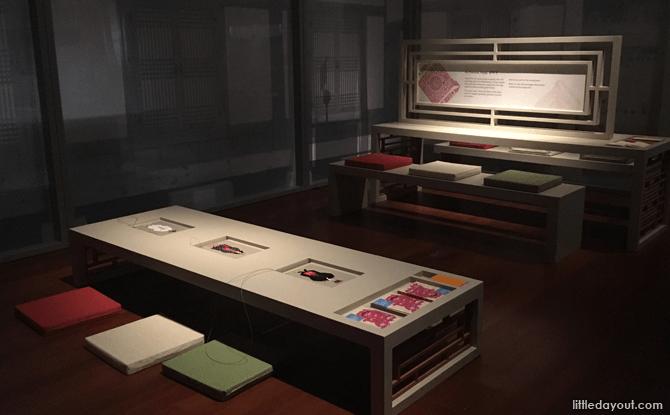 Activity Area at Joseon Korea: Court Treasures and City Life