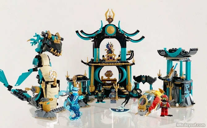 Parent Review: LEGO Temple Of The Endless Sea 71755