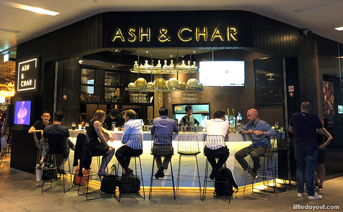 Ash & Char, CBD Gastro-bar, Singapore