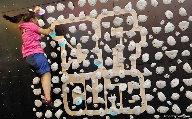 Play Zone at BFF Climbing Gym
