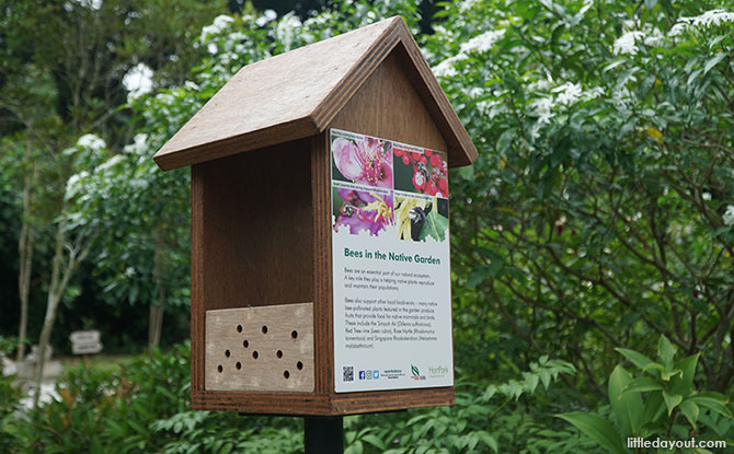 Bee hotels on the Bee Trail